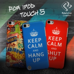 UNIEA Rebelution StreetArt Cases for iPod Touch 5